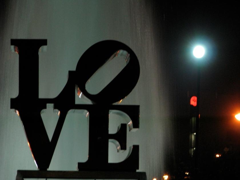 Love park in center city